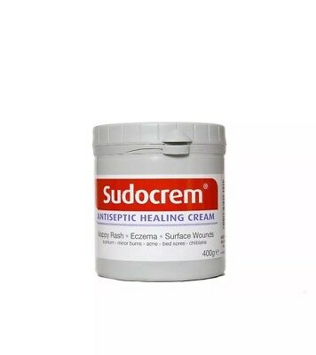 Sudocrem Antiseptic Healing Cream 400g For Nappy Rash, Eczema, Surface Wounds