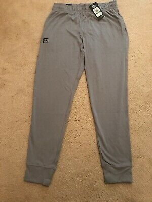 Under Armour Mens L XL XXL Rival Jersey Jogger Cotton Polyester Pants NWTS Soft