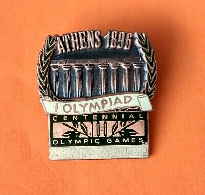 Pin's pins Jeux Olympique ATHENS 1896 CENTENNIAL 100 OLYMPIC GAMES 1st OLYMPIAD