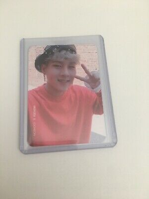Monsta X Jooheon Official Photocard Card Kpop K-pop Us Seller With Toploader