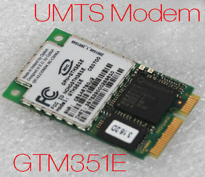 Umts Gprs Modem Wireless Network Gtm351 for Panasonic Cf 18 Cf 18 Newware Sealed