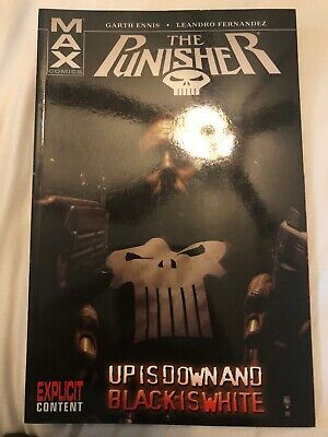 The Punisher MAX - Upside Down and Black is White TPB - Vol 4 - Garth Ennis