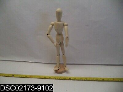 """710112: Jack Richeson- 12"""" Male Human Manikin with Moveable Adjustable Limbs"""
