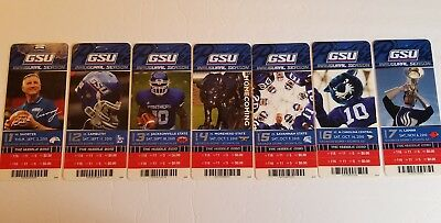 2016 BYU Cougars Football Ticket Stubs - Set of 6