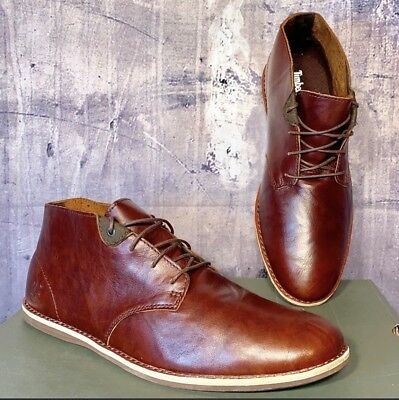 fa2ca743a9a4 TIMBERLAND MEN S REVENIA Plain Toe Chukka Shoes A152E Size 10 ...