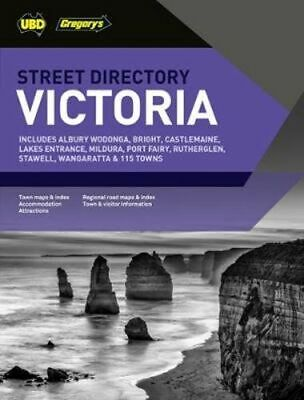 NEW Victoria Street Directory 19th ed By UBD Gregory's Paperback Free Shipping