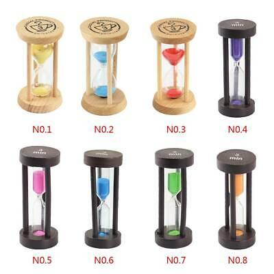 Minutes Hourglass Sand Timer Clock Wooden Sandglass Clock Home Table Decor Gift