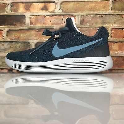 30e37a29ced NIKE LUNAREPIC LOW Flyknit 2 Mens Size 11 Running Shoes College Navy ...