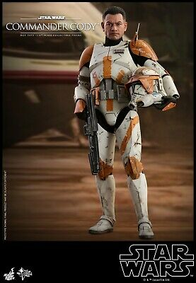 """Hot Toys Star Wars:Episode III Revenge of the Sith 1/6 Commander Cody 12"""" Figure"""