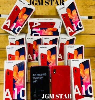 Samsung Galaxy A10 32Gb ( A105M ) Red Fact Unlocked 6.2 Inch Lcd New 2019
