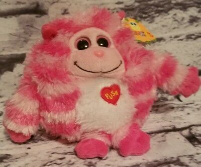 181b1baed03 Ty Monstaz Roxy Talking Plush Stuffed Animal Pink   White Monster ...