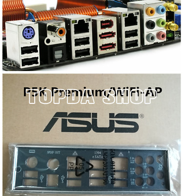 1pc ASUS P5K Premium all-solid luxury big board 775 pin DDR2 with wireless net