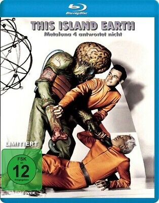 THIS ISLAND EARTH Classic Sci-Fi BLU-RAY - Requires Region Free Blu-ray Player