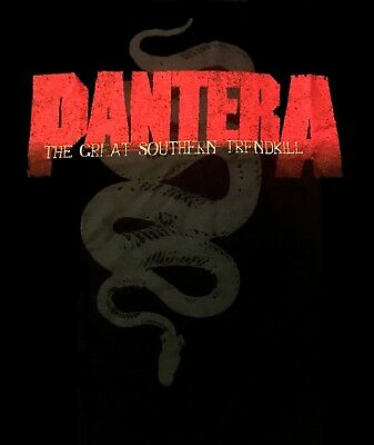 PANTERA cd cvr Great Southern Trendkill SNAKE SILHOUETTE Official SHIRT 2XL new
