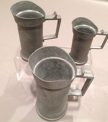 Dutch Pewter Measuring Cup