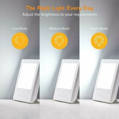 Happy Enery Sunlight, Compact Personal, Portable Light Therapy Energy Lamp