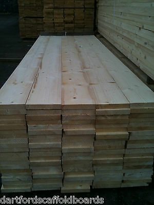 SCAFFOLD BOARDS/PLANKS 2.4m/8ft UNGRADED £9.60 EACH. DELIVERY AVAILABLE