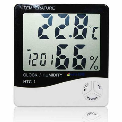 Digital LCD Indoor/ Outdoor Thermometer Hygrometer Temperature Humidity Meter GH