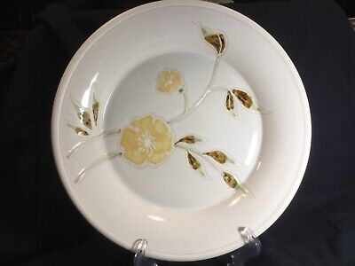 """Sonoma Life Style, """"Mendocino Buttercup"""" 11-1/2"""" Dinner Plate"""
