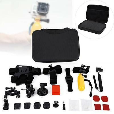 27 in 1 Outdoor Sports Basic Accessories Bundle Kit for GoPro Hero 4 3+ 3 2 1 GA