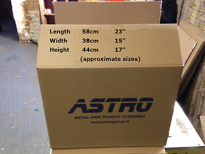 10 Astro Packing / Storage Cardboard Boxes, Large, Strong, Double Walled.