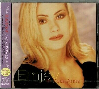 Emjay - In Your Arms - JPCL 2012 Japan Factory Sealed CD 2 Bonus Tracks