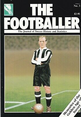 The Footballer Magazine Issue Number 10 ~  West Ham Arsenal Barrow Derby Celtic
