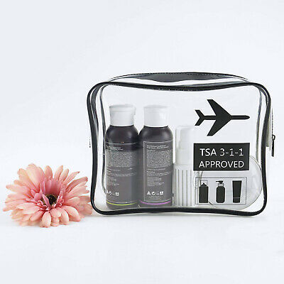 Travel Makeup Cosmetic Toiletry TPU Wash Bag Organizer Storage Pouch Hanging Bag