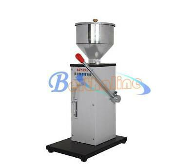 1pcs Manual Stainless Liquid Paste Filling Machine Creams Dispensing Packaging