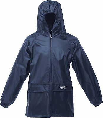 Kids Regatta Stormbreak Waterproof Jacket, Navy. £10. Brand New. Age 3-4 & 5-6