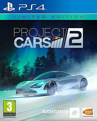 Project Cars 2 II Limited Edition PS4 New and Sealed