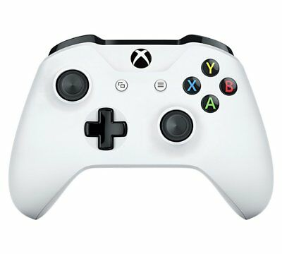 Official Microsoft Xbox One Wireless Controller White