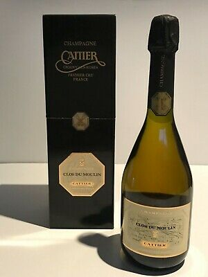 CATTIER CLOS DU MOULIN BRUT MILLESIME 1995 1996 1998 CHAMPAGNE 75cl. IN BOX