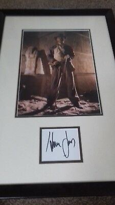 Authentic AUTOGRAPH hand signed Harrison Ford Indiana Jones COA Star Wars
