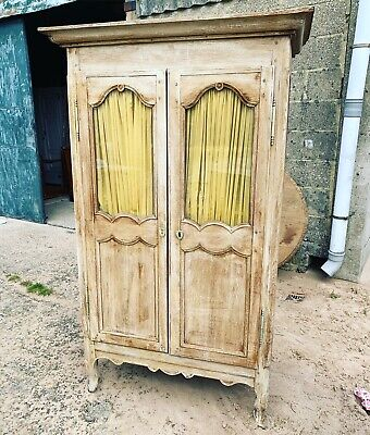 Stunning, Antique French Oak Armoire, Rare Size