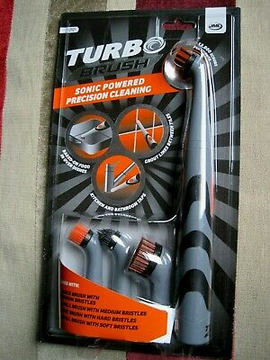 All purpose Cleaner -JML Turbo brush with Set of 4 brushes