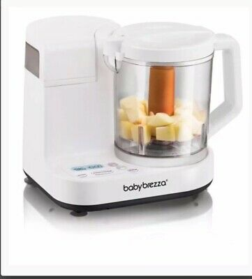 Baby Brezza Glass One Step Baby Food Maker Deluxe 4 CUP CAPACITY FREE SHIPPING