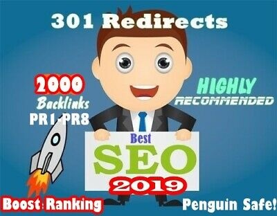 I will build 2000 permanent 301 REDIRECT backlinks to your website