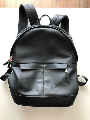 7a00e9bf42e7 MICHAEL KORS MEN'S Bryant Leather Backpack in Black - $270.00 | PicClick
