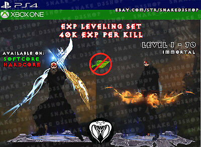 Diablo 3 - Ps4 - Xbox One - Fully Primal Modded Exp Leveling Set - DEXTERITY