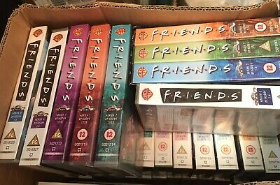 36 Friends VHS Tape Collection - VHS Tapes & cases, Warner Bros. SEE NOTES