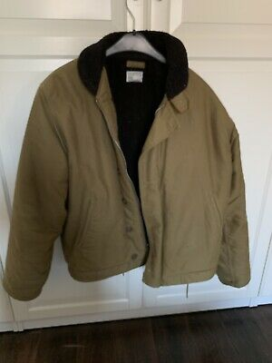 Navy Ww2 N-1 Deck Jacket Us Army khaki Sailor Vintage Clothing Windjacke