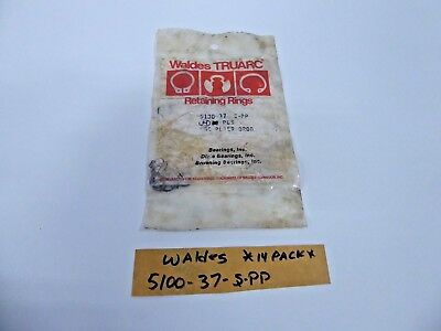 Waldes 5100-37-S-PP Retaining Ring Snap Ring (Pack of 14)
