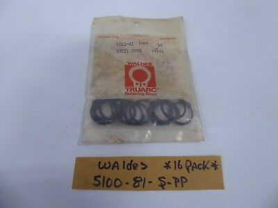 Waldes 5100-81-S-PP Retaining Ring Snap Ring (Pack of 16)