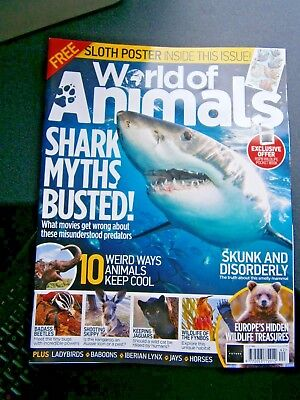 World Of Animals Magazine Issue 62 (new) 2018