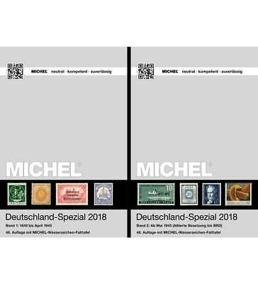 Set: MICHEL Deutschland-Spezial 2018 Band 1+2 komplett Original 1A-Neuware