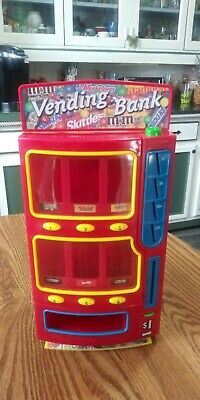 M&Ms Vending Bank Candy Bar Dispenser Skittles Twix Mars Snickers Milky Way 2004
