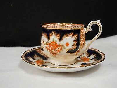 "Royal Albert ""Royalty"" Bone China Teacup and Saucer Set ~England"