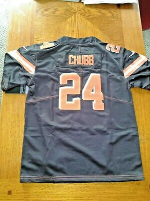 size 40 dd2bc 80422 NIKE CLEVELAND BROWNS Nick Chubb 2018 Salute2Service Limited ...