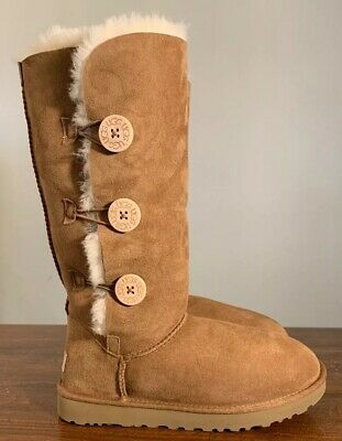 15ba6cc28ad WOMEN'S SHOES UGG Bailey Button Triplet II Boots 1016227 Grey *New ...